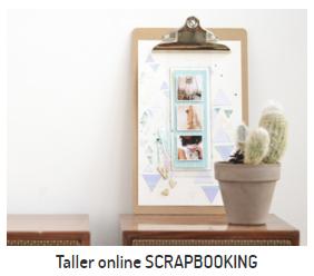 taller online de scrapbooking